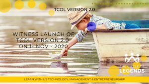 TCOL V2.0 Launch on 1-NOV-2020